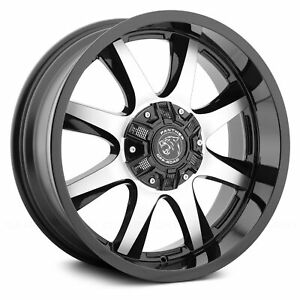 18 Inch 8x165 1 170 4 Wheels Rims Panther Off Road 578 18x9 0 Gloss Black