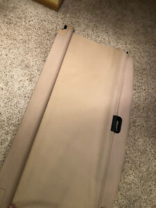 04 10 Bmw X3 Trunk Cargo Security Retractable Pull Shade Tan beige Oem E83