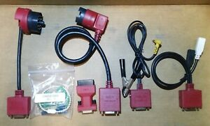 Snap On European Cable Adapter Set Solus Modis Edge Ultra Euro Vehicle Kit