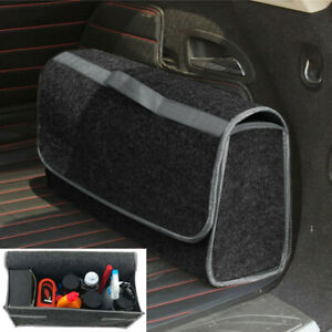 Car Trunk Foldable Cargo Organizer Felt Storage Bag Box Case Large Capacity