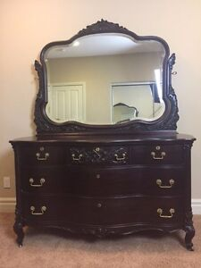 Antique Vintage Dresser Beveled Mirror From The Early 1900 S Widdicomb Co