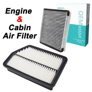 Cars Engine Cabin Air Filter Combo Set For Hyundai Tucson Kia Forte Sportage