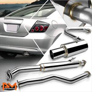 For 05 10 Scion Tc 2 Dr 2 4l 4 Muffler Tip Stainless Steel Catback Exhaust Pipe
