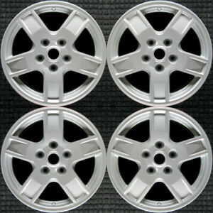 Jeep Grand Cherokee All Silver 17 Oem Wheel Set 2005 To 2007