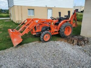 Kubota L3901 Hydrostatic Tractor 4x4 70hrs On It