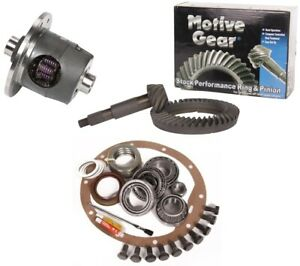 55 64 Chevy Belair Gm 8 2 55p 3 55 Ring And Pinion Auburn Posi Motive Gear Pkg