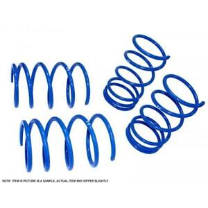 Manzo Lower Lowering Springs For 2001 2005 Honda Civic 2 4dr Non Si