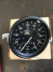 New Old Stock Vw Bug Speedometer Without Fuel Gauge 113 957 057 H
