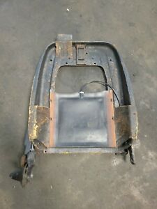 87 93 Ford Mustang Front Seat Back Top Passenger Frame Convertible 1987 1993
