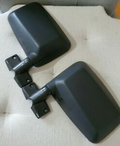 Side Mirrors For 87 93 Jeep Yj W Full Doors Used