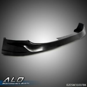 For 2010 2012 Hyundai Genesis Coupe 2dr Front Bumper Lip Unpainted Black