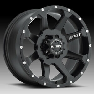 Mickey Thompson 366b Mm 366 Matte Black 20x9 5x150 18mm 90000022623