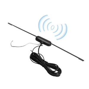 Universal Car Hidden Amplified Antenna Set Electronic Stereo Am Fm Radio Signal