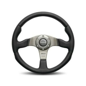 Momo Race 350 Steering Wheel Leather Airleather