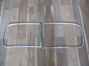 1941 Buick Windshield Stainless Trim Moulding B B
