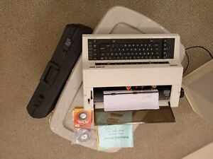 Royal Alpha 2015 Typewriter With Manual And Case