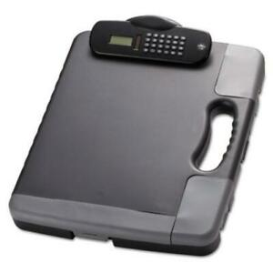 Oic Calculator Storage Portable Clipboard Low profile Heavy Duty Plastic