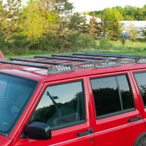 For Jeep Cherokee 1986 2001 Dirtbound Offroad 1010005 Roof Cargo Basket