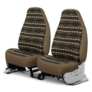 For Ford E 350 Club Wagon 02 05 Southwest Sierra 1st Row Taupe Custom Seat