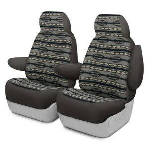 For Chevy Silverado 1500 08 09 Southwest Sierra 1st Row Gray Custom Seat Covers