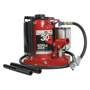 Aff 5630sd 30 Ton Super Duty Air Hydraulic Bottle Jack