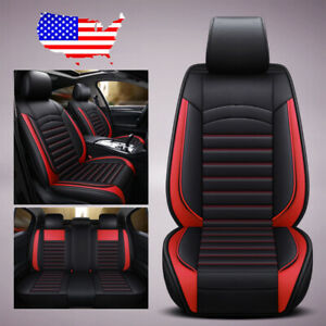 Us Car Suv Microfiber Leather Seat Covers For Nissan Altima Sentra Rogue Kicks