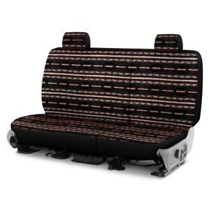 Dash Designs Southwest Sierra 2nd Row Black Custom Seat Covers