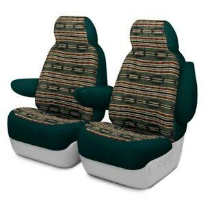 For Dodge Ram 3500 96 Southwest Sierra 1st Row Green Custom Seat Covers