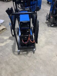 Miller Dynasty 210 Tig Welder Complete Cooler Torch Foot Pedal Coolmate 3