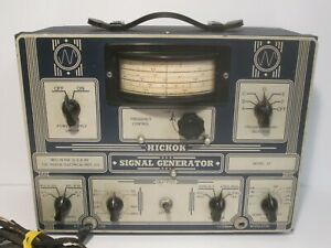 Very Rare Hickok Model 12 Signal Generator Not Tested