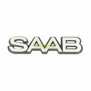 Saab 9000 85 93my Cd 4 Dr Badge Emblem 6963375 New Genuine Rare Suffolk Classic