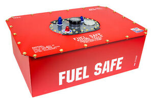 Fuel Safe Race Safe 15 Gal Red Fuel Cell And Can P N Rs215
