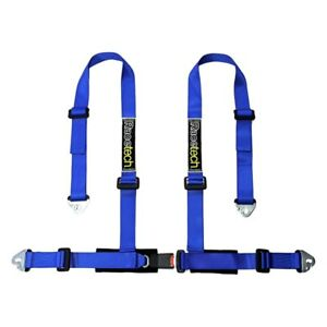 Racetech Rtclu4 2 4 Point Clubman Series Harness Blue