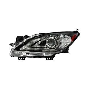 For Mazda 3 2010 2013 Sherman 3467 150b 1 Driver Side Replacement Headlight