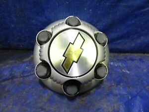 2000 2010 Chevy Silverado 1500 Tahoe 6 Lug Silver Center Cap Steel Wheel