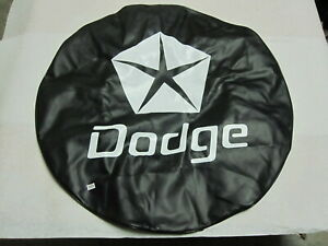 15 Spare Tire Cover Black Heavy Duty Vinyl Tire Cover fits Dodge
