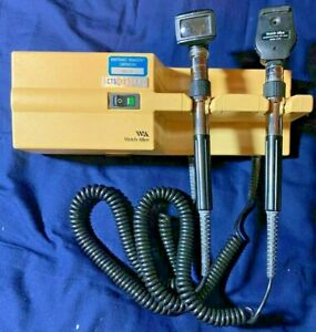Welch Allyn 767 Series Wall Transformer 25020a Otoscope 11710 Ophthalmoscope