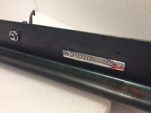 1960 1961 Dodge Dart Pioneer Glove Box Door Badge Nameplate Original Oem