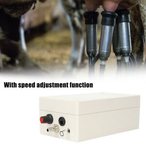 12v Vacuum Pump Electric Milking Machine Pneumatic Pulsator Dairy Farm Milker