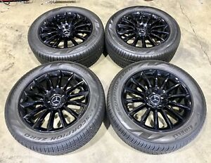 20 Mercedes Amg G63 G550 Wheels Rims 2020 Set Oem Tires Stock Factory