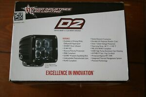Rigid Industries Dually D2 Driving Led Light Set Of Two 50231
