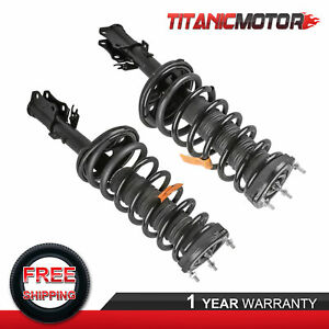 Pair Complete Rear Struts Shock Absorbers For Lexus Es300 Toyota Camry 2002 2003