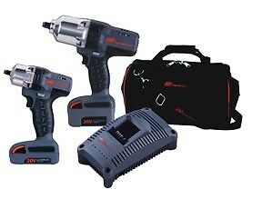 Ingersoll Rand Iqv20 201 20v Cordless Lithium Ion 2 Piece Impact Wrench Combo