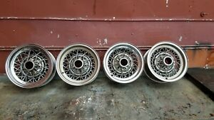 1953 1954 Buick Skylark Wire Wheels Kelsey Hayes Date Coded 1954 Set 4