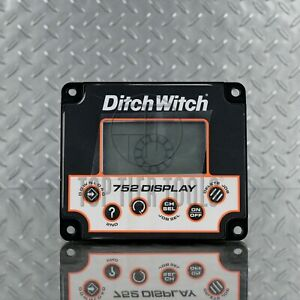 Ditch Witch Subsite 752 Display Screen