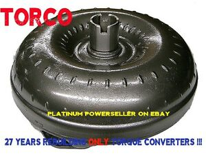 Th350 Non lockup Stock Torque Converter 12 Chevy With 1 Year Warranty