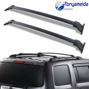 For Honda 09 15 Pilot Only Factory Roof Rack Cross Bar Crossbars Luggage Carrier