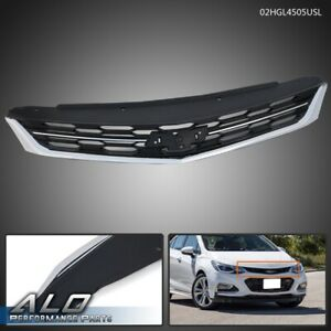 Abs Front Bumper Upper Grille Grill Replacement For 2016 2018 Chevrolet Cruze