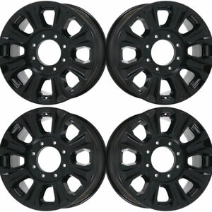 Ford F 250 Super Duty Black 18 Oem Wheel Set 2017 To 2019