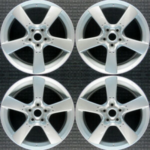 Mazda Rx 8 All Silver 18 Oem Wheel Set 2004 To 2008
